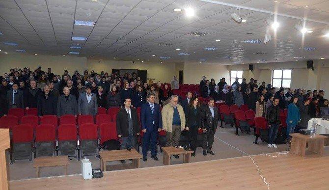 Çeltik'te TÜBİTAK Bilgilendirme Toplantısı Yapıldı
