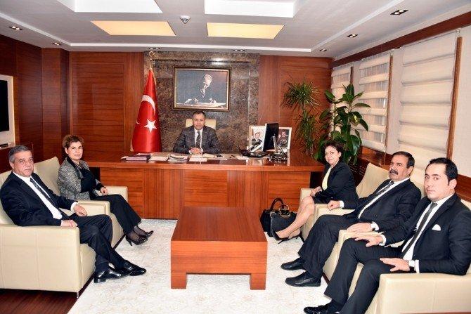 CHP'den Vali Ali Yerlikaya'ya Ziyaret