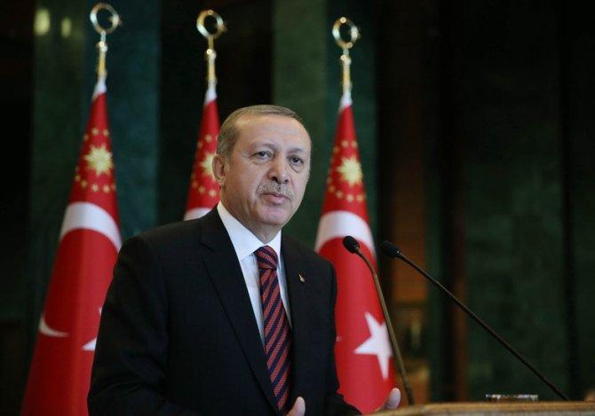 Cumhurbaşkanı Erdoğan, Dostluk Derneği üyelerine hitap etti