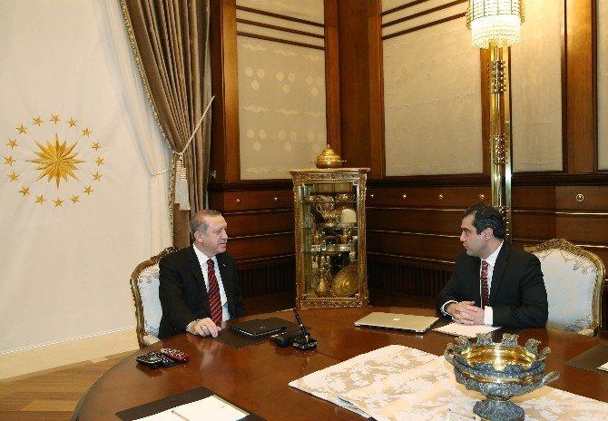 Cumhurbaşkanı Erdoğan, Prof. Dr. Günel'i Kabul Etti