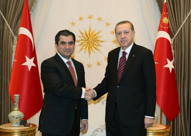 Erdoğan, Beyin Genetiği Direktörü Prof. Dr. Murat Günel'i kabul etti
