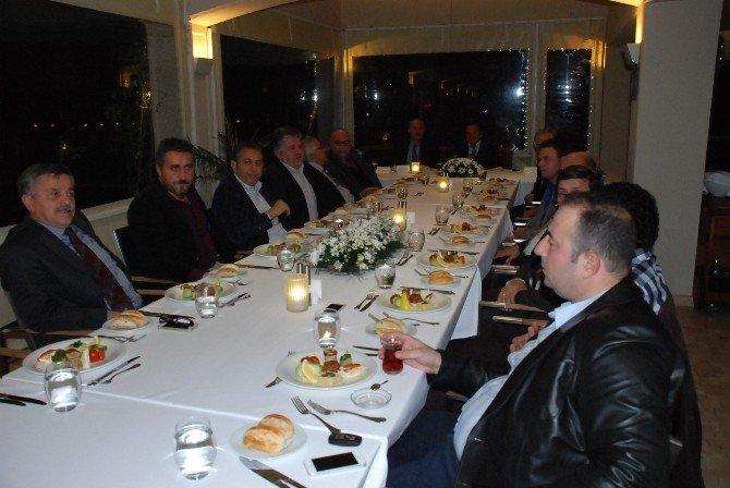 Başkan Atabay, Baraner'in Onuruna Yemek Verdi