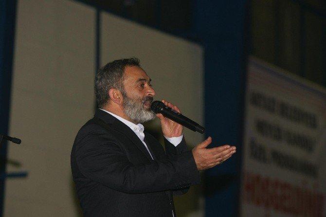 Dursun Ali Erzincanlı Akyazı'da Mevlid Programına Katıldı