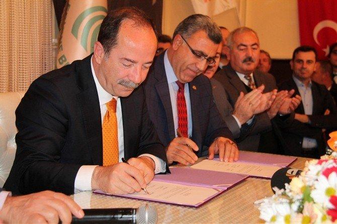 Edirne Belediyesi, Tüm Yerel-sen'le Toplu Sözleşme İmzaladı