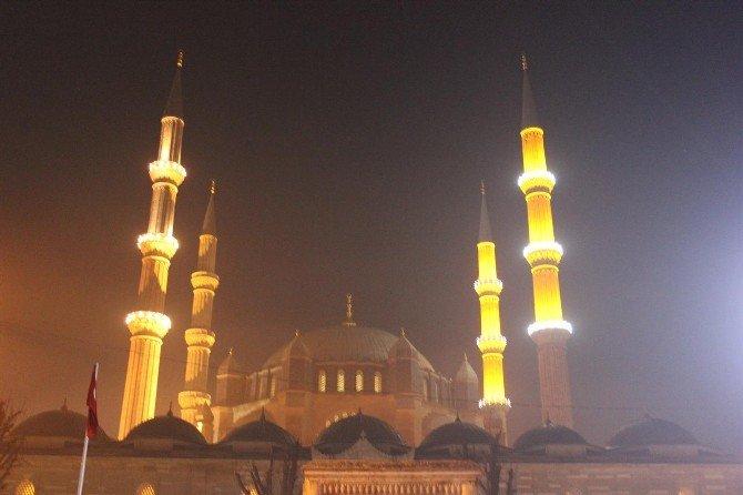 Selimiye'de Mevlid Kandili Coşkusu