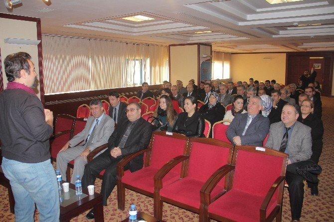 Elazığ'da Etkili İletişim Ve Motivasyon Semineri Verildi