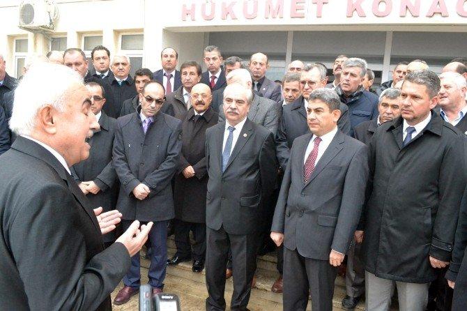 Edirne Valisi Şahin'den Veda Ziyareti