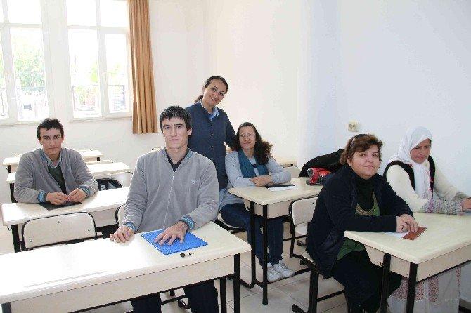 Görme Engellilere Kabartmalı Okuma Yazma Kursu Açıldı