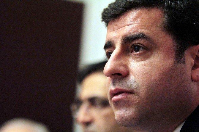 HDP Eş Genel Başkanı Demirtaş: