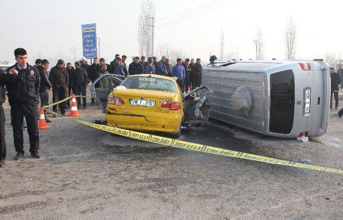 Iğdır'da Trafik Kazası: Sekiz Yaralı