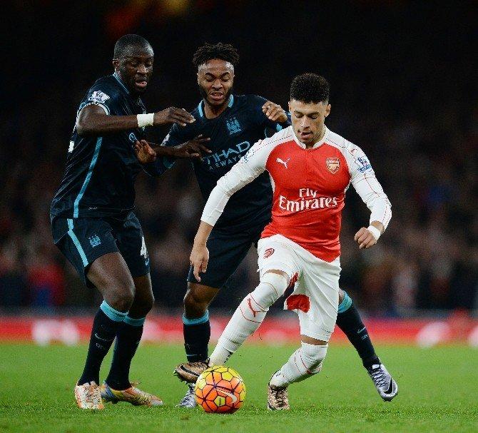 Arsenal - Manchester Cıty Maçına Mesut Özil Damgası