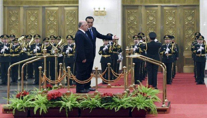 Irak Başbakanı Abadi Çin'de