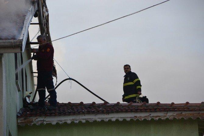 Isparta OSB'de Fabrika Yangını