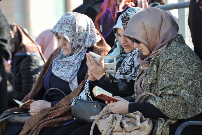 Hidayet Karaca ve emniyet mensuplarına destek