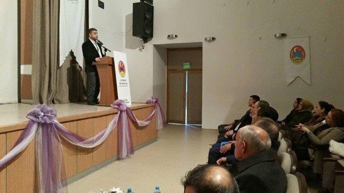Çankırı'da Geleceğin Çocukları Nasıl Yetiştirilmeli Konulu Konferansı