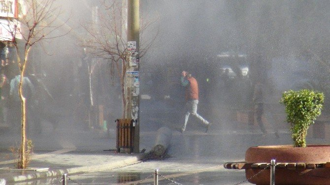 Kızıltepe'de Olaylar Çıktı