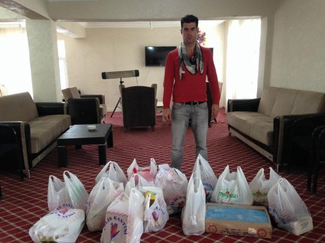 Meger'den Yardım Kampanyası