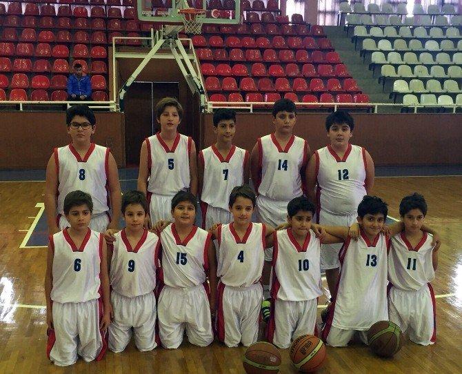 Özel Sanko Okulları Yıldız Kız Basketbol Takımı İl Birincisi