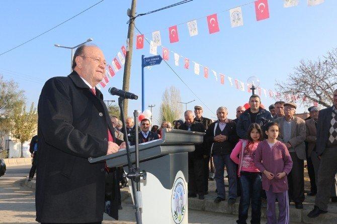 Efeler Belediyesi Piraye Levent Parkı'nı Düzenlenen Tören İle Hizmete Açtı