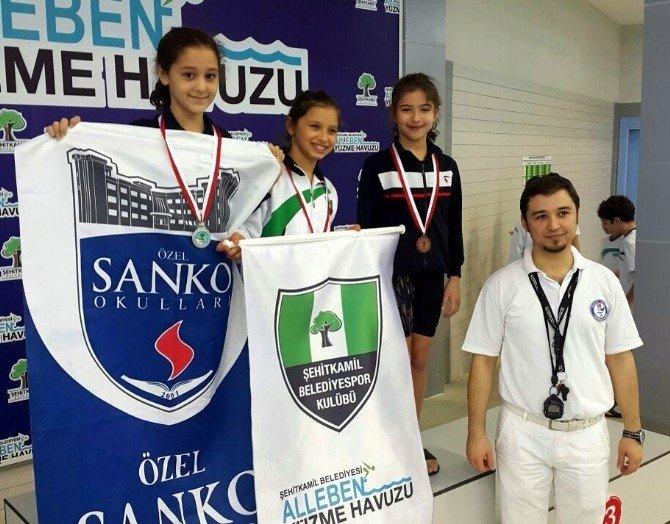 Özel Sanko Okulları'nın Yüzme Başarısı