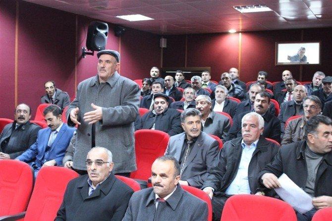 Selim'de Köylere Hizmet Götürme Birliği Toplantısı Yapıldı
