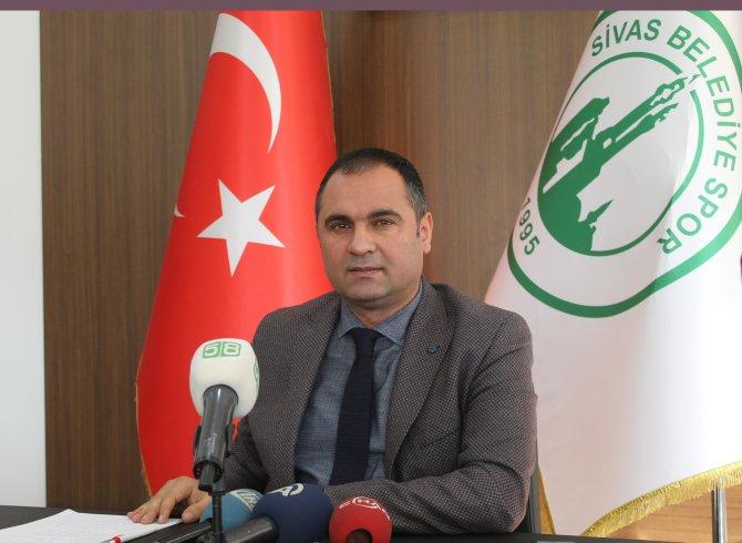 Sivas Belediyespor Başkanı: Misafirperverlik daha önemli