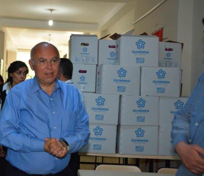 Süleymanpaşa Belediyesi'nden Gıda Desteği
