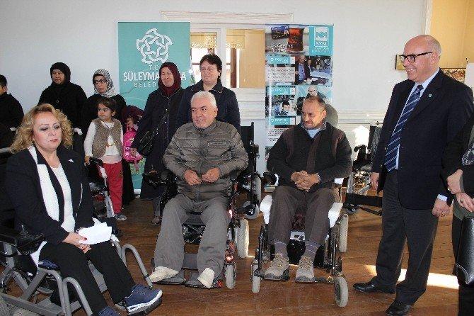 Süleymanpaşa Belediyesi Engellilere El Uzatmaya Devam Ediyor