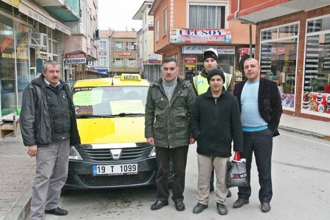 Sungurlu'da Ticari Araç Kullanıcıları İsyan Etti