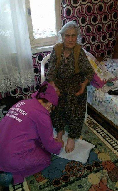 Süleymanpaşa Belediyesi'nden Evde Bakım Hizmeti