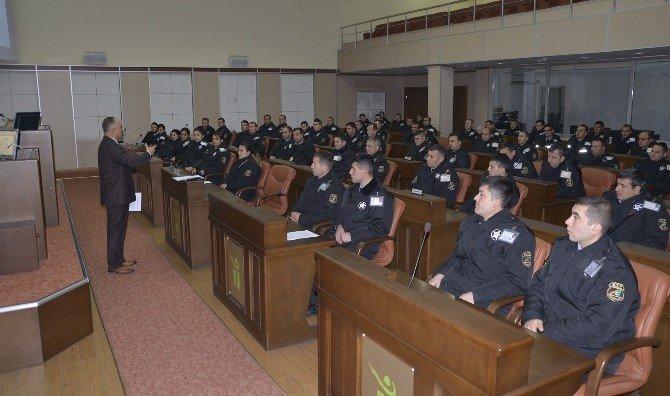 Belediye Özel Güvenlik Görevlilerine Dolandırıcılık Eğitimi
