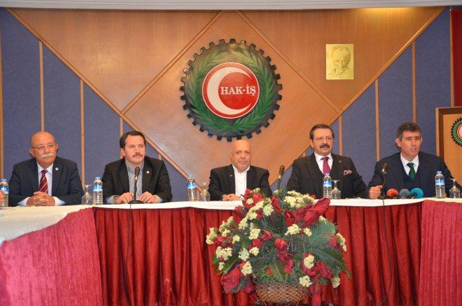 Türkiye-AB KİK heyetinden iç ve dış problemlere karşı birlik ziyaretleri