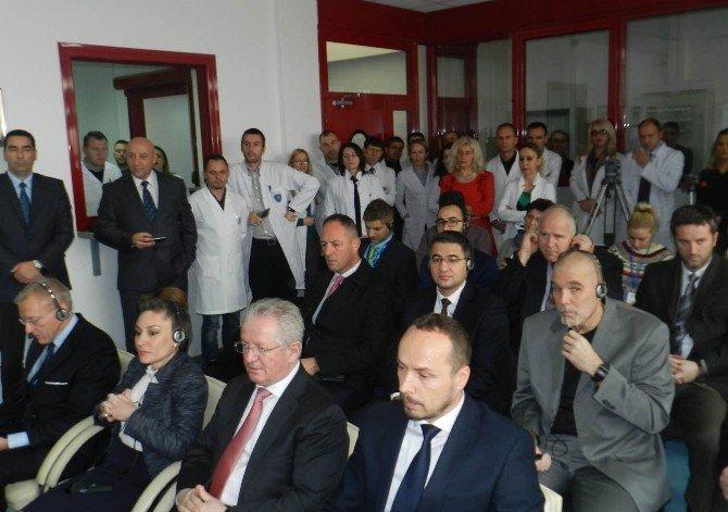 TİKA'dan Kosova Adli Tıp Ajansı'na Cihaz Desteği