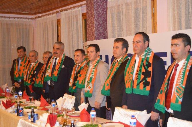 Kozan Belediyespor iktidar ve muhalefeti bir araya getirdi