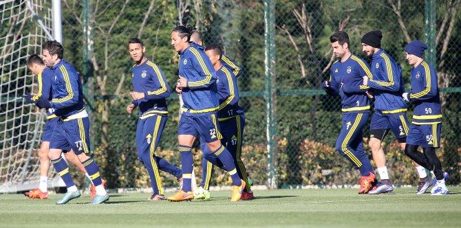 Fenerbahçe, kupa maçı hazırıklarını tamamladı