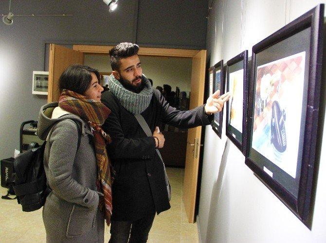 Uluslararası Yarışmanın Eserleri Sanatseverlerle Buluştu
