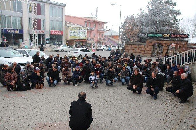 Varto'da Protesto