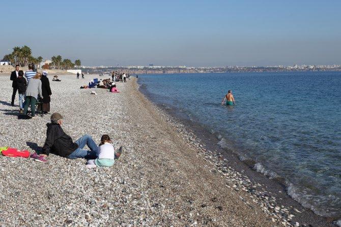 Antalya'da 'kış' sıcağı