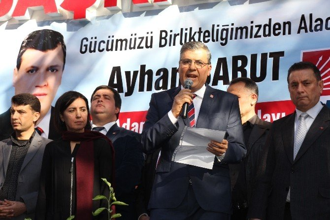 Ayhan Barut CHP Adana İl Başkan Adayı