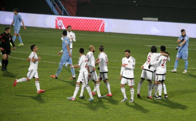 Trabzonspor: 0 – Gaziantepspor: 1 (İlk yarı)