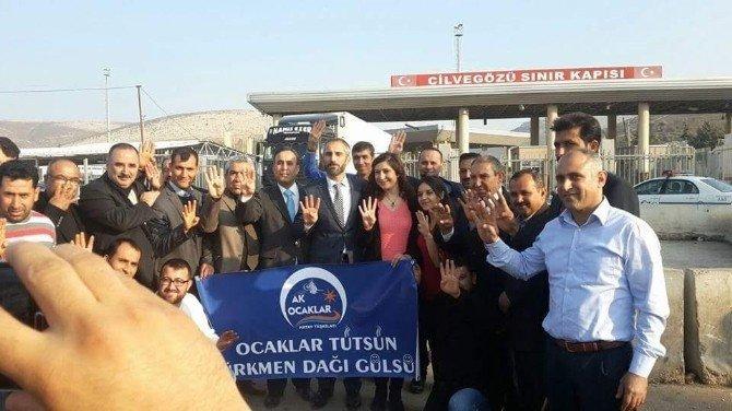 AK Ocaklar'dan Türkmenlere Tam Destek