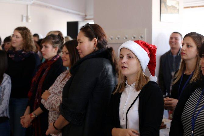 TÖMER Antalya şubesinde yılbaşı kutlaması