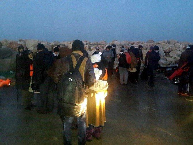 Aydın'da 87 Suriyeli Göçmen Yakalandı