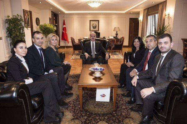 Başbakan Yardımcısı Kurtulmuş, Rtgd Üyelerini Kabul Etti