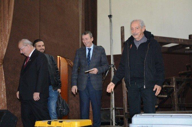 Başkan Albayrak'tan Genco Erkal'a Başarı Dileği