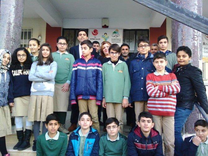 Özel İrfan Okulu öğrencilerinden ÇATOM'a ziyaret