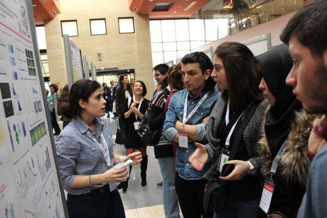Üniversite öğrencileri, Uluslararası Moleküler Biyoloji Kongresi'ne katıldı