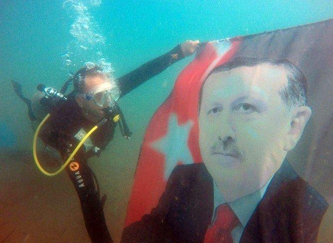 Dalgıcın 'Erdoğan' Sevdası