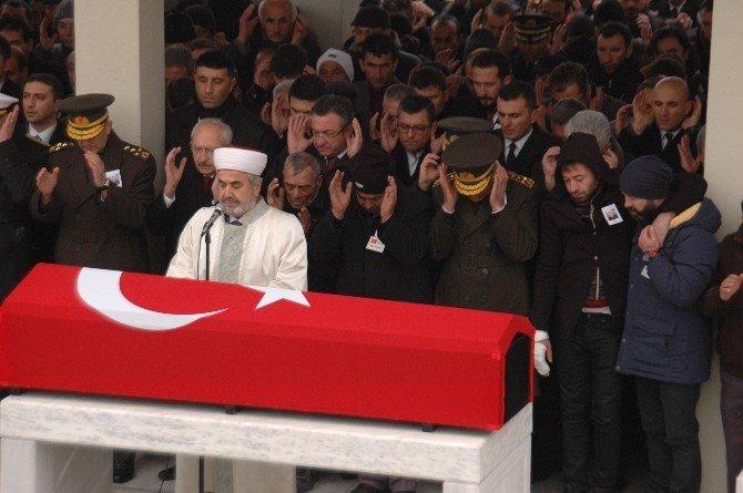Şehit Uzman Çavuş Kılıç İçin Cenaze Namazı Kılındı