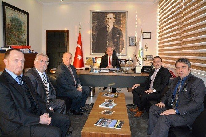 Bulgar Ve Yunan İşadamlarından Başkan Albayrak'a Ziyaret